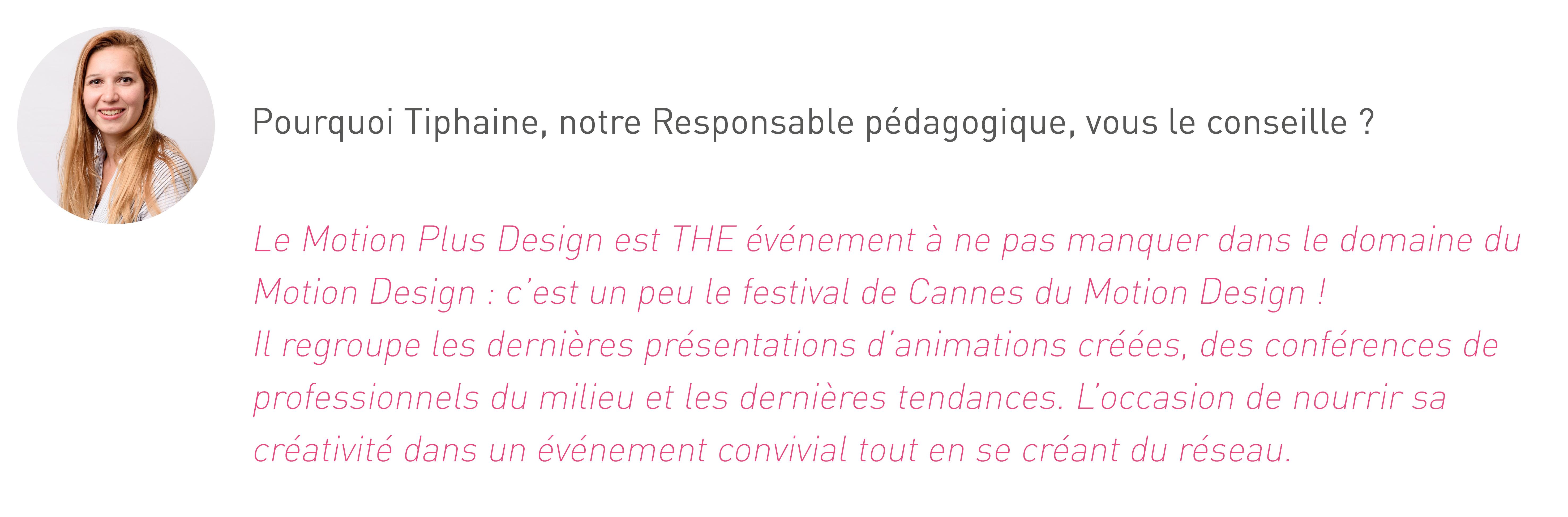 Le conseil de Tiphaine, responsable pédagogique du cursus Design Graphique à L'institut Artline