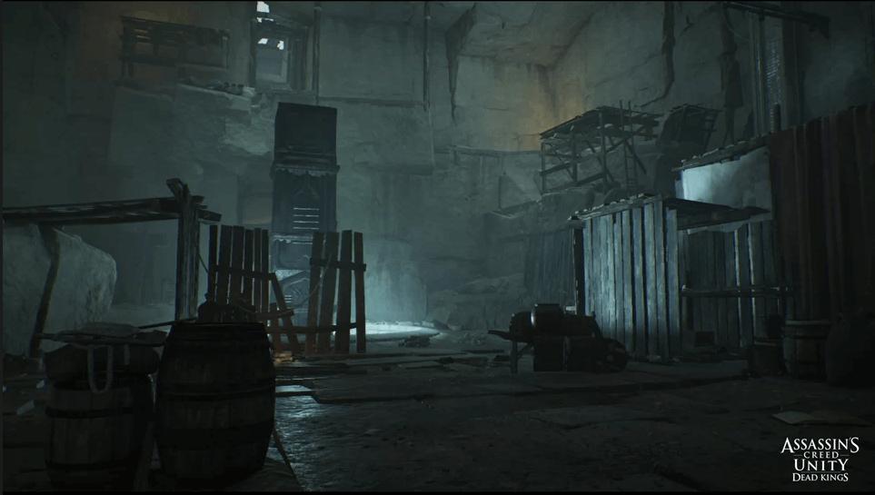 Réalisation de Vincent Barriéres, mentor pour la formation Game Designer à l'Institut Artline, sur le jeu vidéo Assassin's Creed : Unity